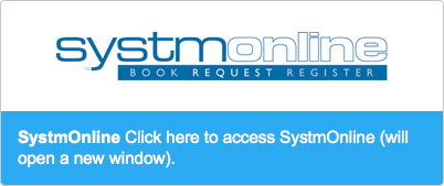 Click here to access SystmOnline (will open in a new window)